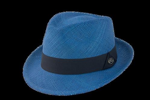 blue hat, colored hats, summer hats, tropical hats, panama hats, toquilla hats, fedora hats