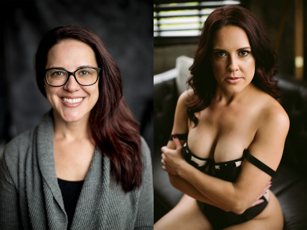 Milwaukee Boudoir | Boudoir Before & After | Laura Lynne Boudoir
