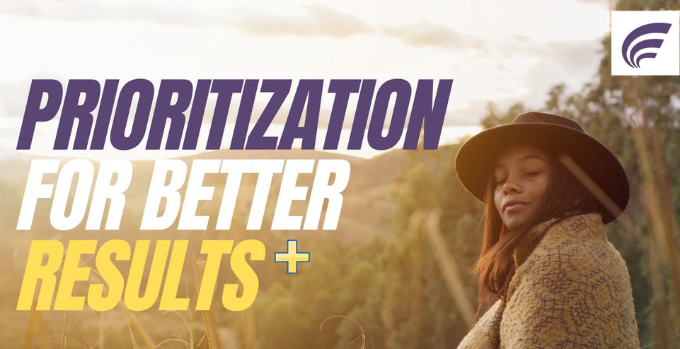 Use This Simple Prioritization Strategy to Get Better Results