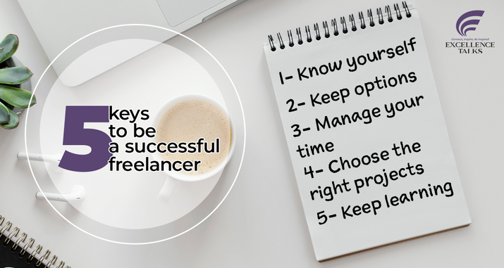 People are increasingly choosing freelancing to earn a living. Competition in the free market is increasing. But how can you be successful in this competitive environment?  First, you should know yourself. If you cannot establish yourself in freelance, then you will not be able to achieve reasonable results from it. The first step is to understand yourself, evaluate your skills, and discover your interest in learning new things frequently and adaptability.  Then, keep your options. Forget about having a single target. Always keep the backup option. Don't rely on a single market or a single customer. Create your portfolio and build your network.  Manage your time. Time is the main resource for freelancers. Plan and organize your time to make the most of it.  Choose the right projects. Perform some analysis before bidding on the project. Is the customer reliable? What are the implications of ratings and reviews for buyers? Has the customer's payment method been verified? And make sure you have the ability to complete the job.  Last but most important one is keep learning. Freelancing is hard and there are lots of competitors outside. You should keep learning and keep on track!