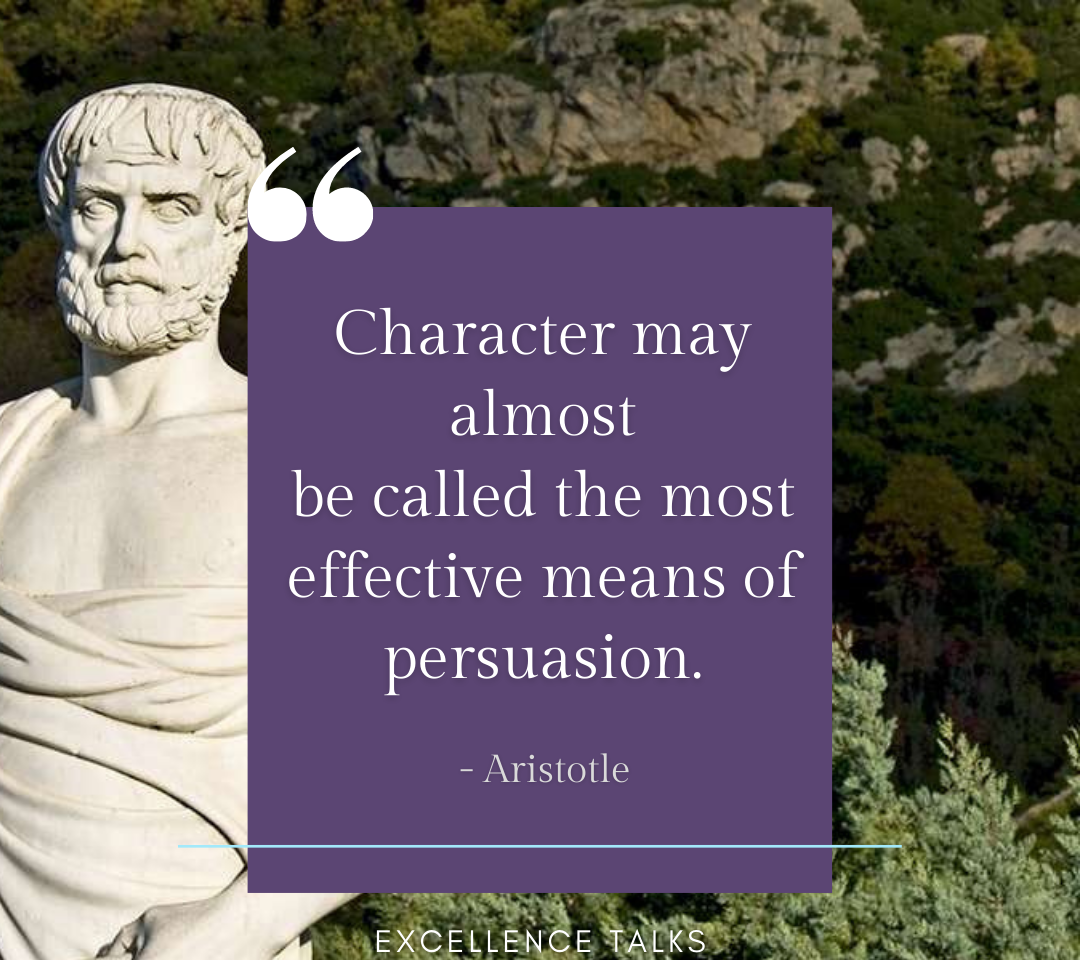 The number one most important quality of a leader is the ability to influence. If you can't influence others as a leader, there's no chance to be a good one. Then the question arises, how to influence others?  Persuasion seems like the answer, then there is a character that people genuinely want to follow...  #leadership #persuasion #character #excellence