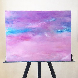 ・_The sea of the purple