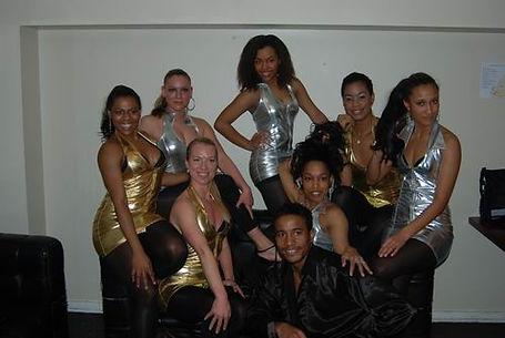 En af vores dansegrupper ude til en event