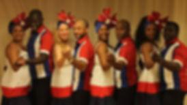 En af mange vores danse grupper