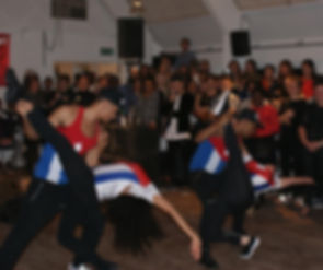 Latin American dance