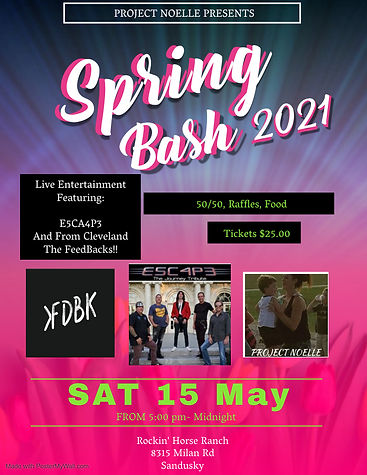 Copy of Spring Event Party Flyer Templat