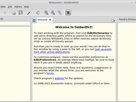 GoldenDict — лучшая программа-словарь для переводчика