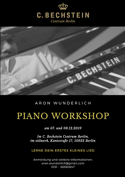 Piano Workshop Flyer Aron Wunderlich 1.p