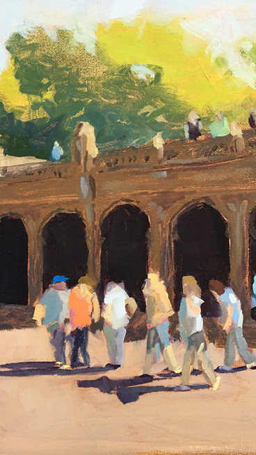 Bethesda Terrace Afternoon