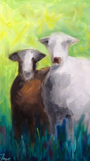 Sister Goats in Paradise