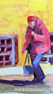 Lady in a Pink Coat
