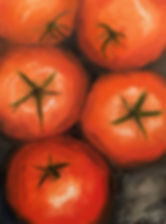 Summer Tomatoes Painting