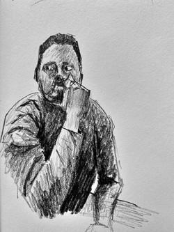 Self Portrait - Contemplation
