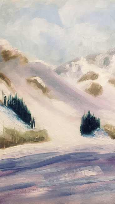Winter Mountain (Revisited)