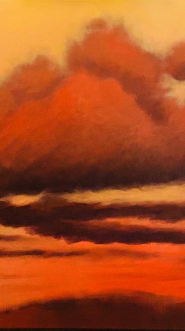 October Sky of the Blue Ridge