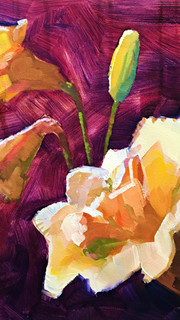Day Lilies in Light