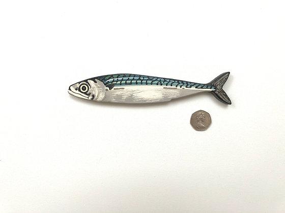 1 Small Mackerel Fish Wall Art Sculpture