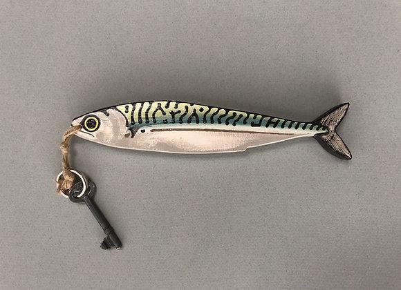 Mackerel Key Wall Hanging/Key Ring