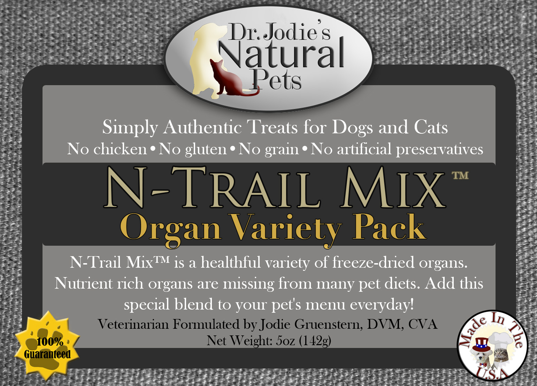 N-Trail Mix Organ Variety Pack