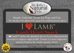I ♥ Lamb - Lamb Heart Snack