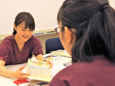 キャップスクリニック代官山、渋谷区立鉢山中学校生徒の職場体験受け入れを実施