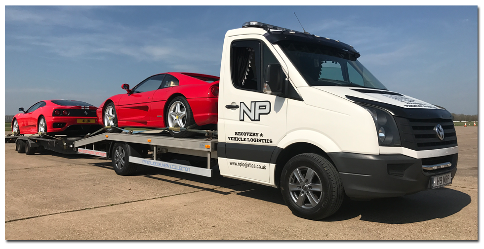 Vehicle Logistics Ferrari