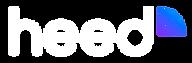 Heed Logo white