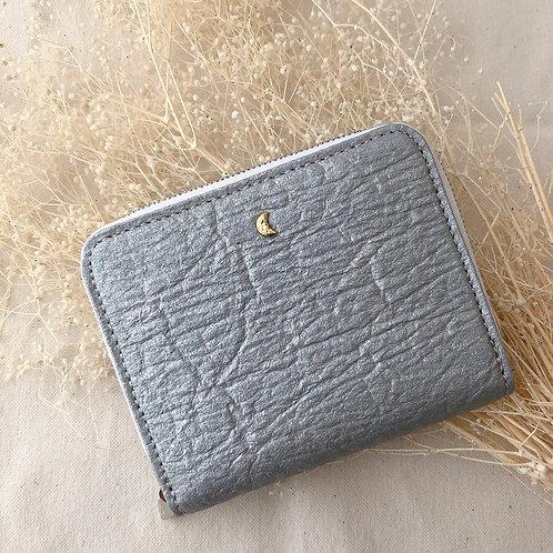 月のかけらミニ財布 / シルバー