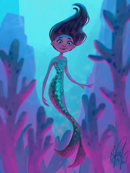 Mermaid - Procreate
