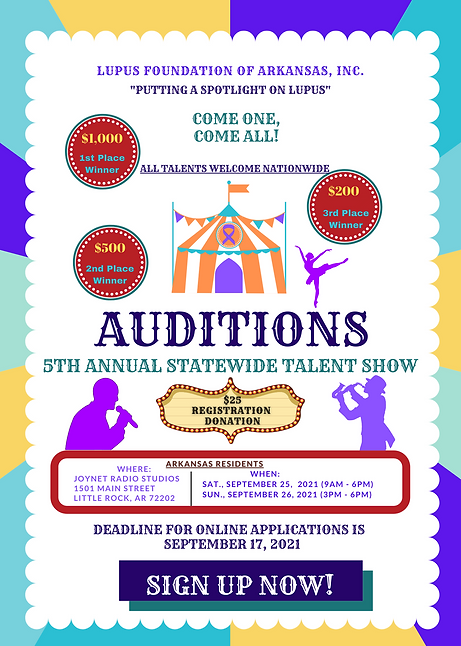5th Annual Talent Show Audition Flyer.pn