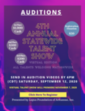 _Auditions for 2020 talent show (Revised