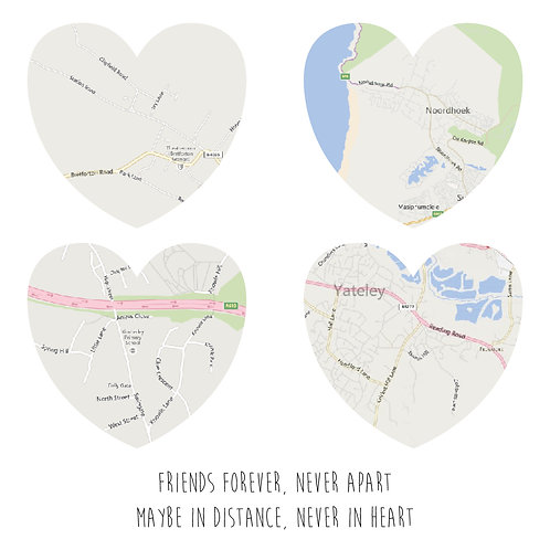 Personalised 3D heart maps print
