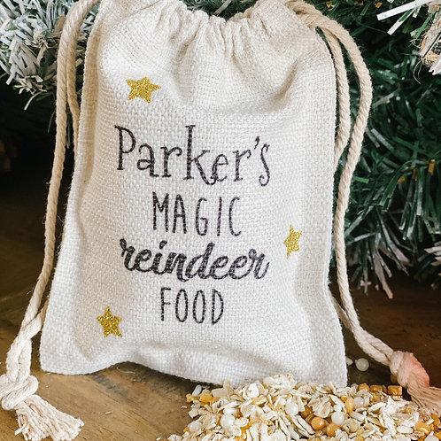 Personalised reindeer food