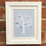 Lilypad Designs personalised prints for families