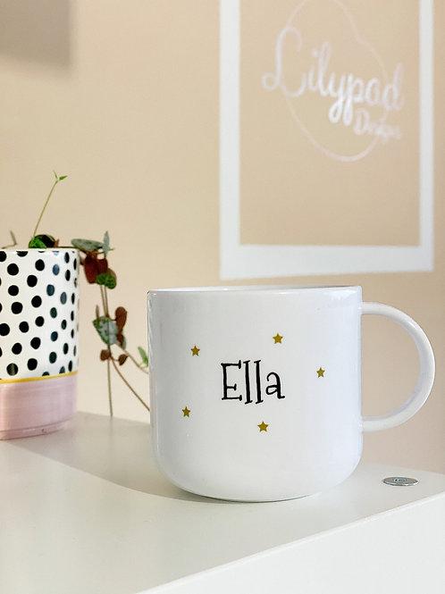 Personalised children's mug - Ella