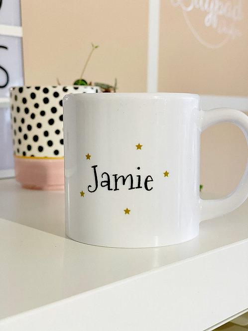 Personalised children's mug - Jamie
