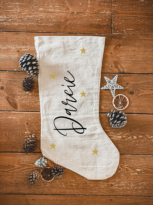 Personalised name stocking