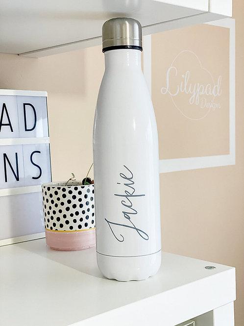 Personalised water bottle - Jackie