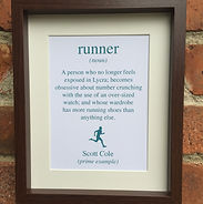 Lilypad Designs personalised prints for sports lovers