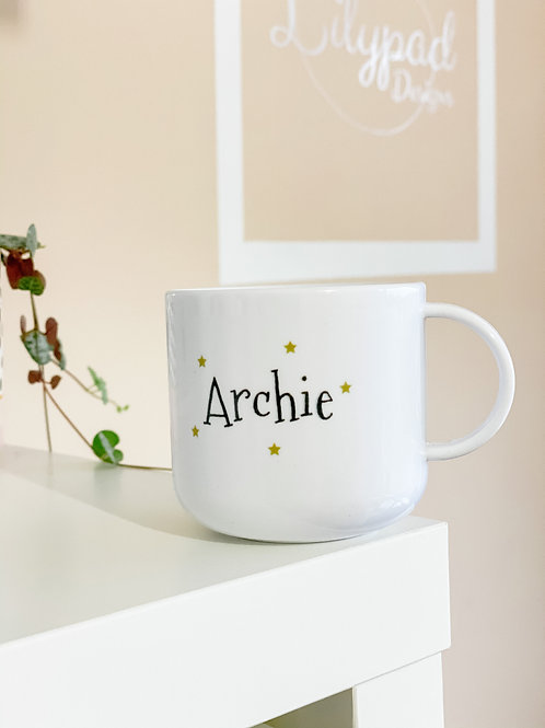 Personalised children's mug - Archie
