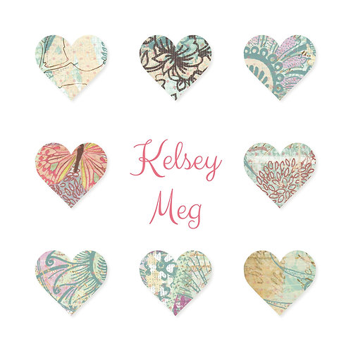 Personalised 3D hearts print