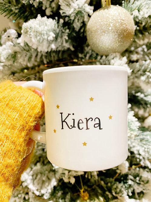 Personalised children's Christmas mug