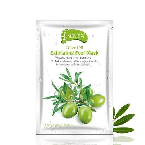 Fussmaske Olive Peeling
