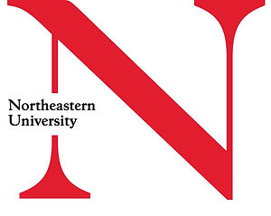 NMonogram Northeastern University (Red).