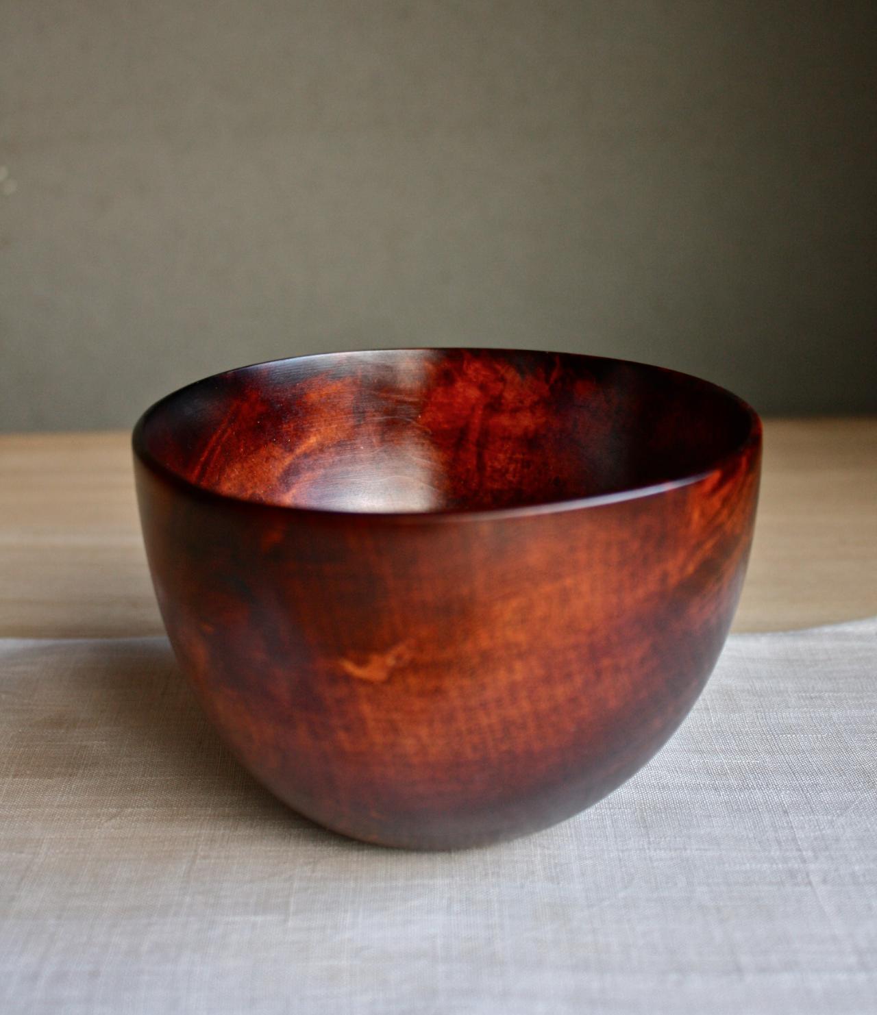 bowl urush finishing