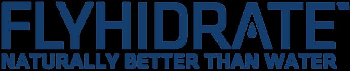 Flyhidrate banner logo