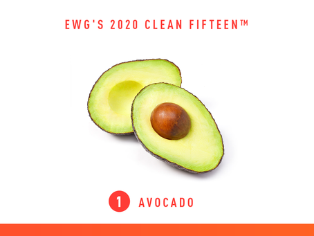 EWG's 2020 Clean Fifteen™ and Dirty Dozen™