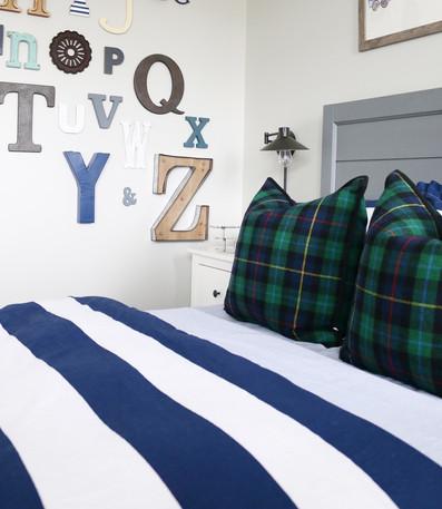 Preppy Boy's Bedroom