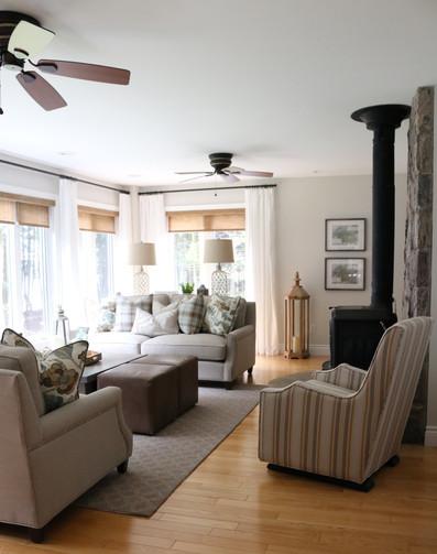 Cottage Living Room Make Over