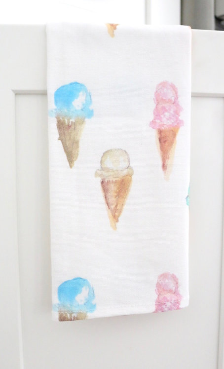 Ice Cream - Bar Towel (small)